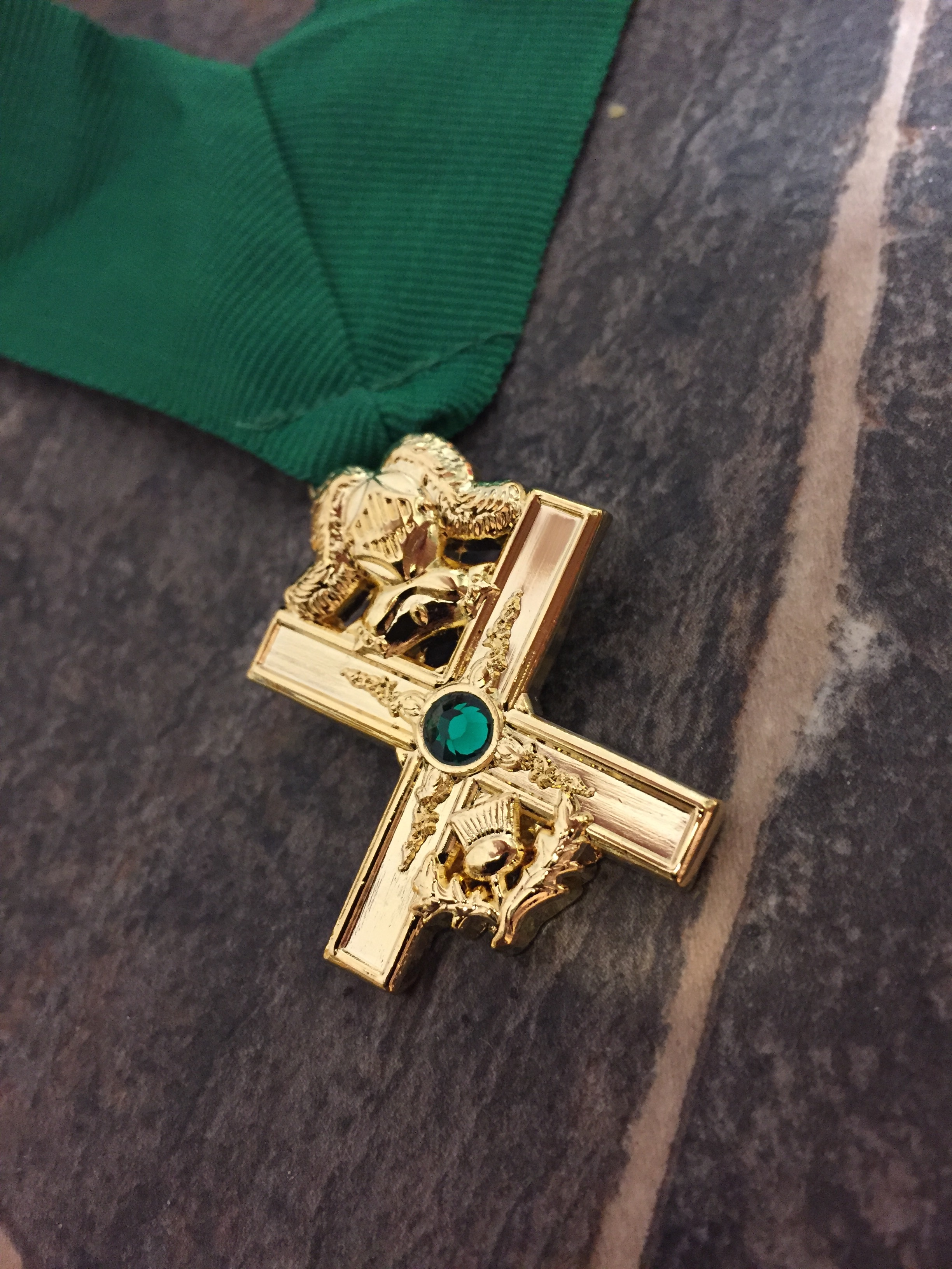 The masters craft knights of saint andrew collar jewel small knights of saint andrew collar jewel small mozeypictures Image collections